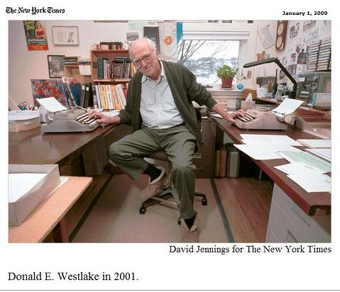Donald E. Westlake, who died New Year's Eve, 2008, in Mexico