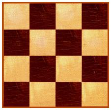 A 4x4 array (part of chessboard)
