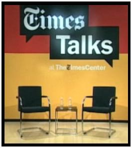 'Times Talks' at The New York Times