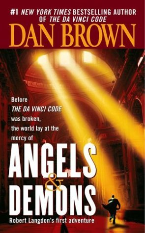 Cover of 'Angels & Demons,' paperback ISBN-10 0671027360