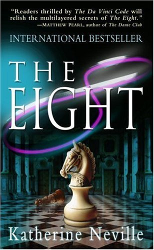 Katherine Neville's 'The Eight,' edition with knight on cover, on her April 4 birthday