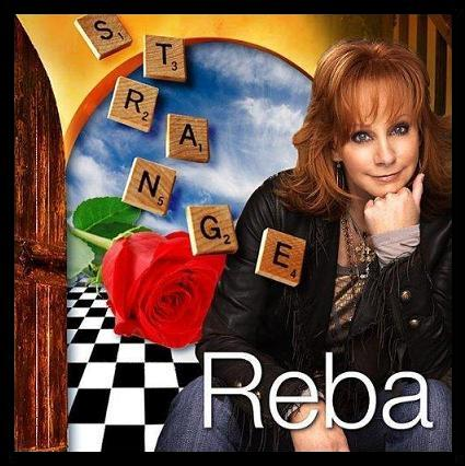 Reba McEntire, illustration for her Palm Sunday, 2009, single 'Strange'
