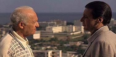 Roth and Corleone in Havana