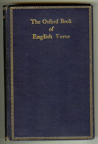 Oxford Book of English Verse 1250-1900