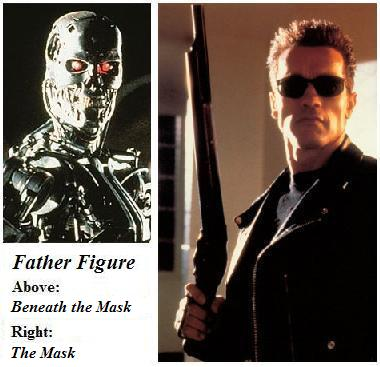 Father figure from the Terminator series