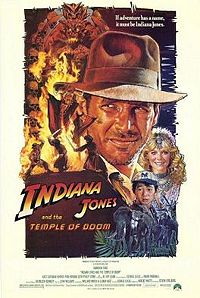 'Indiana Jones and the Temple of Doom' poster