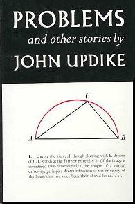 Cover of 'Problems,' by John Updike