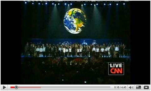 'Heal the World' at July 7, 2009, Michael Jackson Memorial Service in Los Angeles
