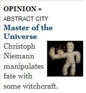 Christoph Niemann on witchcraft and snow