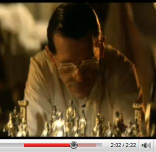 Replication of 'The Immortal Game' of chess in 'Blade Runner'