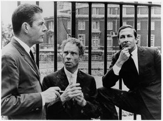 John Cage, Merce Cunningham, Robert Rauschenberg in the 1960's