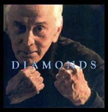 Kirk Douglas promoting his film 'Diamonds'