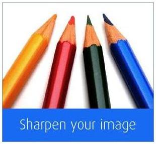 Four coloring pencils, of four different colors