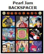 Pearl Jam's 'Backspacer' album cover