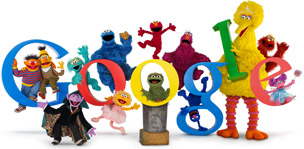 Sesame Street 40th anniversary celebration at Google