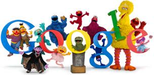 Sesame Street 40th anniversary celebration at Google