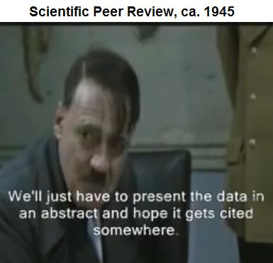 YouTube: Hitler's Peer Review-- The Abstract
