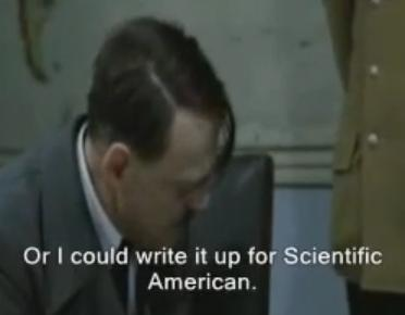 YouTube: Hitler's Peer Review-- Scientific American