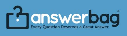 Answerbag logo: 'Every question deserves a great answer'
