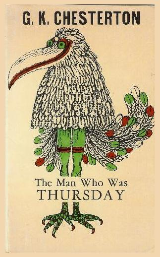 Cover illustration, 'The Man Who Was Thursday'