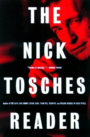 Nick Tosches on the cover of 'The Nick Tosches Reader'