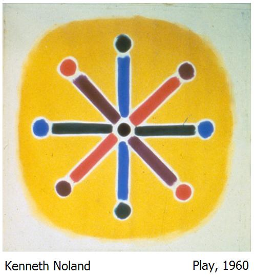 Kenneth Nolad, 'Play,' 1960. Noland died on January 5, 2010.