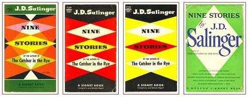 Diamond covers for Salinger's 'Nine Stories'
