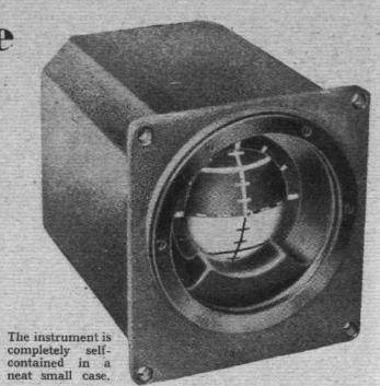 Sperry F3 attitude gyroscope