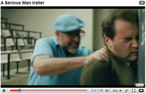 Physicist accelerated against his blackboard in 'A Serious Man'