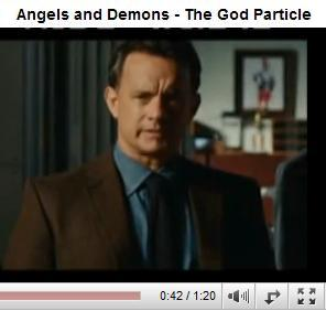 Tom Hanks in 'Angels & Demons' on the God particle