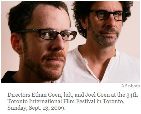The Coen brothers in Toronto, 2009