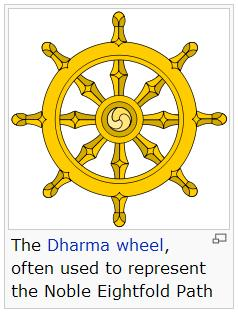 Dharma Wheel from Wikipedia