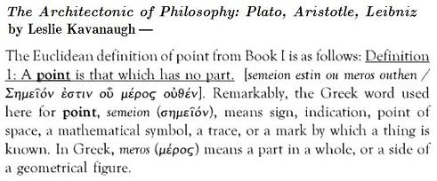 Image-- Euclid's definition of 'point'