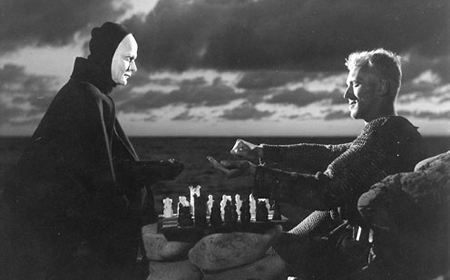 Image--Chess game from 'The  Seventh Seal'