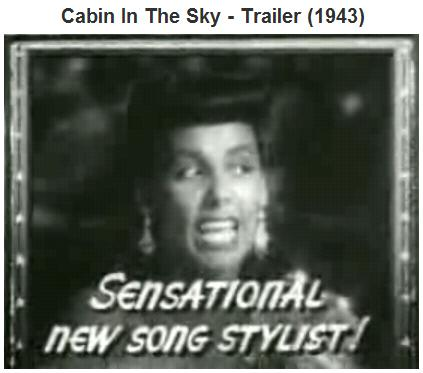 Image-- Lena Horne in 'Cabin in the Sky'