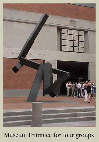 Image-- Holocaust Museum tour group entrance