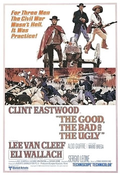 Image-- Poster for 'The Good, The Bad, and the Ugly'