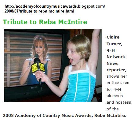 Reba on the 4-H Network