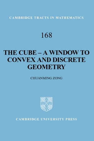 IMAGE- 'Cambridge Tracts in Mathematics 168: The Cube'