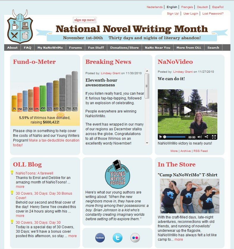 national novel writing month 2012 Middle school ela teacher laura bradley describes how the national novel writing month project turned her eighth-graders into motivated, inspired novelists.