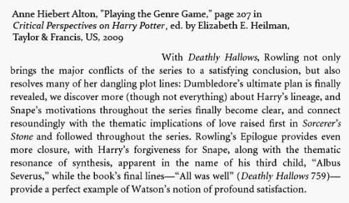 IMAGE- The final page of 'Deathly Hallows' is 759.