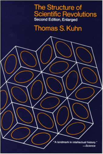 IMAGE- Cover of second edition of Kuhn's 'Structure of Scientific Revolutions'