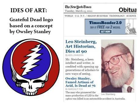 IMAGE- Grateful Dead logo based on a concept by Owsley Stanley