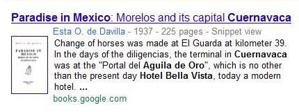 IMAGE- Hotel Bella Vista as 'Portal del Aguila de Oro'