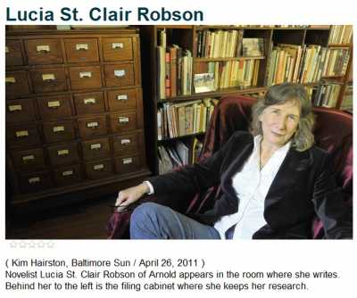 IMAGE- The 24-drawer filing cabinet of Lucia St. Clair Robson
