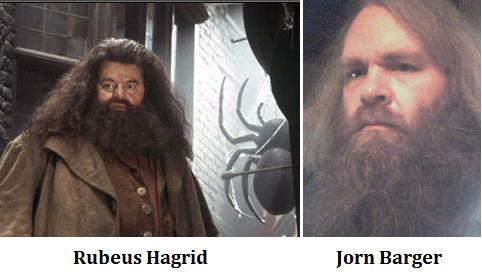 IMAGE- Rubeus Hagrid and Jorn Barger
