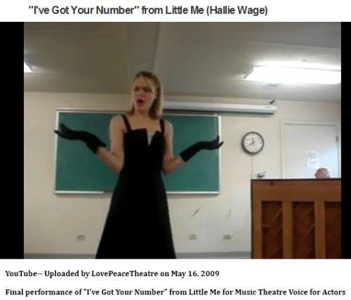 IMAGE- 'I've Got Your Number' rendition