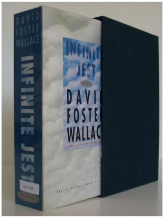 IMAGE- David Foster Wallace's novel 'Infinite Jest'