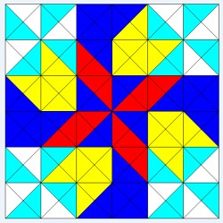 IMAGE- Four Winds quilt block