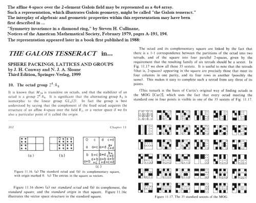IMAGE- The Galois Tesseract, 1979-1999